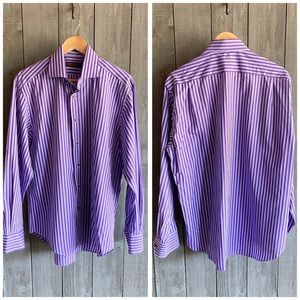 Mens Etro Milano Button Down Shirt EU 41 L